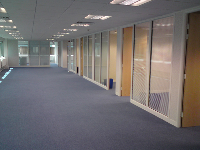 Office partitioning company in Dorset, new office layouts